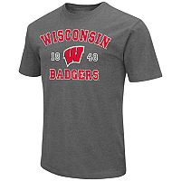 Men's Campus Heritage Wisconsin Badgers Heritage Tee