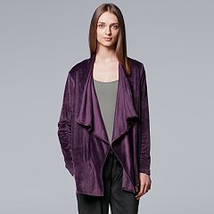 Women's Simply Vera Vera Wang Midnight Moon Cozy Wrap