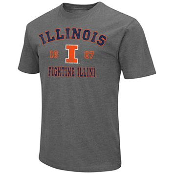 Men's Campus Heritage Illinois Fighting Illini Heritage Tee