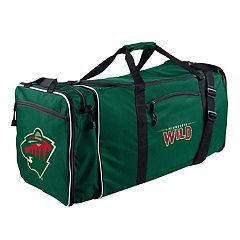 Minnesota Wild Steal Duffel Bag