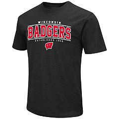 Men's Campus Heritage Wisconsin Badgers Established Tee