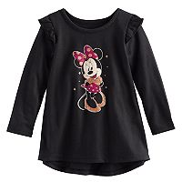 Disney's Minnie Mouse Baby Girl Glittery Graphic Tunic by Jumping Beans®
