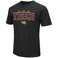 Men's Campus Heritage LSU Tigers Established Tee
