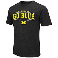 Men's Campus Heritage Michigan Wolverines Established Tee