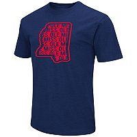 Men's Campus Heritage Ole Miss Rebels State Tee
