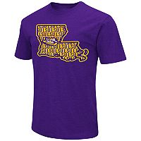 Men's Campus Heritage LSU Tigers State Tee