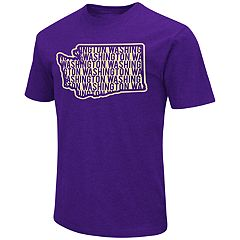 Men's Campus Heritage Washington Huskies State Tee