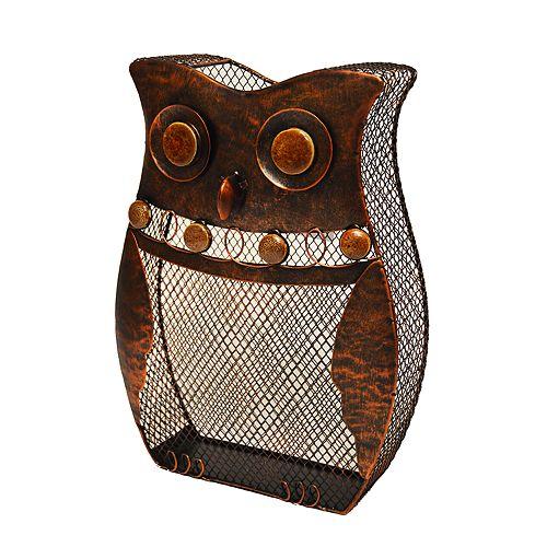 New View Owl Wine Cork Catcher Table Decor