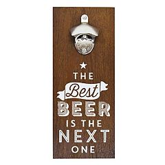 New View 'The Best Beer' Bottle Opener Wall Decor