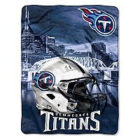 Tennessee Titans Silk-Touch Throw Blanket