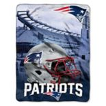 New England Patriots Silk-Touch Throw Blanket