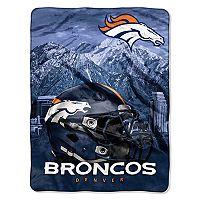Denver Broncos Silk-Touch Throw Blanket