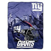 New York Giants Silk-Touch Throw Blanket