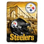 Pittsburgh Steelers Silk-Touch Throw Blanket