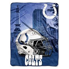 Indianapolis Colts Silk-Touch Throw Blanket