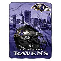 Baltimore Ravens Silk-Touch Throw Blanket
