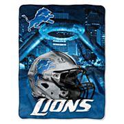 Detroit Lions Silk-Touch Throw Blanket