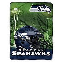 Seattle Seahawks Silk-Touch Throw Blanket