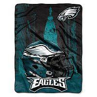Philadelphia Eagles Silk-Touch Throw Blanket