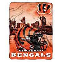 Cincinnati Bengals Silk-Touch Throw Blanket