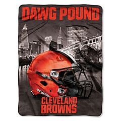 Cleveland Browns Silk-Touch Throw Blanket