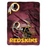 Washington Redskins Silk-Touch Throw Blanket