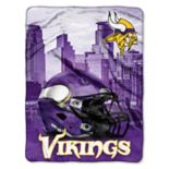 Minnesota Vikings Silk-Touch Throw Blanket