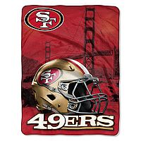 San Francisco 49ers Silk-Touch Throw Blanket
