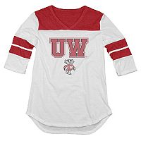 Women's Wisconsin Badgers Fiery Tee