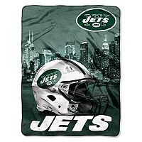 New York Jets Silk-Touch Throw Blanket