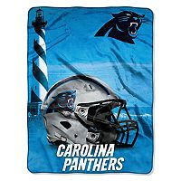 Carolina Panthers Silk-Touch Throw Blanket
