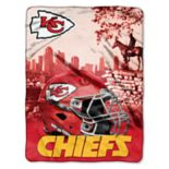 Kansas City Chiefs Silk-Touch Throw Blanket