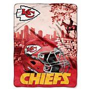 Kansas City Chiefs Silk-Touch Throw Blanket