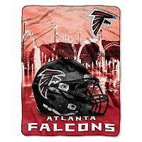 Atlanta Falcons Silk-Touch Throw Blanket