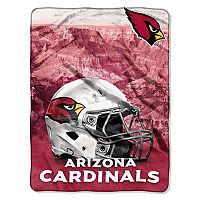 Arizona Cardinals Silk-Touch Throw Blanket