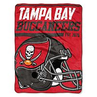 Tampa Bay Buccaneers Micro Raschel Throw Blanket
