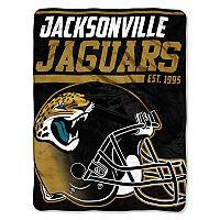 Jacksonville Jaguars Micro Raschel Throw Blanket