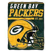 Green Bay Packers Micro Raschel Throw Blanket