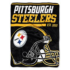 Pittsburgh Steelers Micro Raschel Throw Blanket