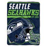 Seattle Seahawks Micro Raschel Throw Blanket