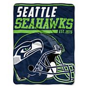 Seattle Seahawks Micro Raschel Throw Blanket