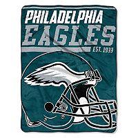 Philadelphia Eagles Micro Raschel Throw Blanket