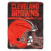 Cleveland Browns Micro Raschel Throw Blanket