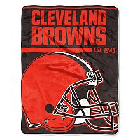 Cleveland Browns Micro Raschel Throw Blanket