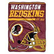 Washington Redskins Micro Raschel Throw Blanket