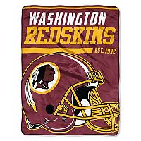 Washington Redskins Micro Raschel Throw Blanket