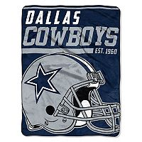 Dallas Cowboys Micro Raschel Throw Blanket