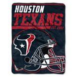 Houston Texans Micro Raschel Throw Blanket