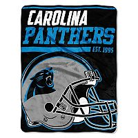 Carolina Panthers Micro Raschel Throw Blanket