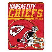 Kansas City Chiefs Micro Raschel Throw Blanket